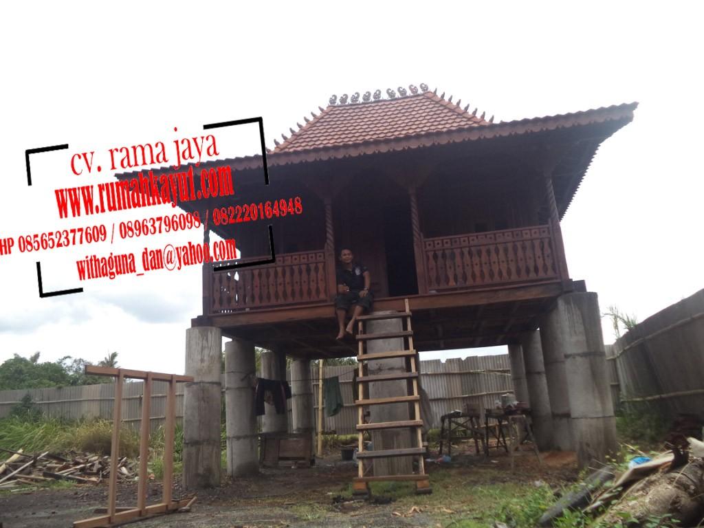 harga rumah kayu jual rumah kayu murah