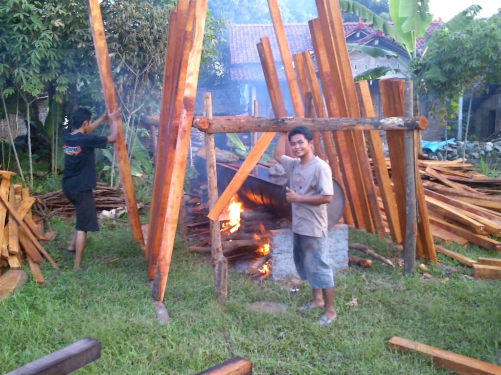 proses pengawetan kayu