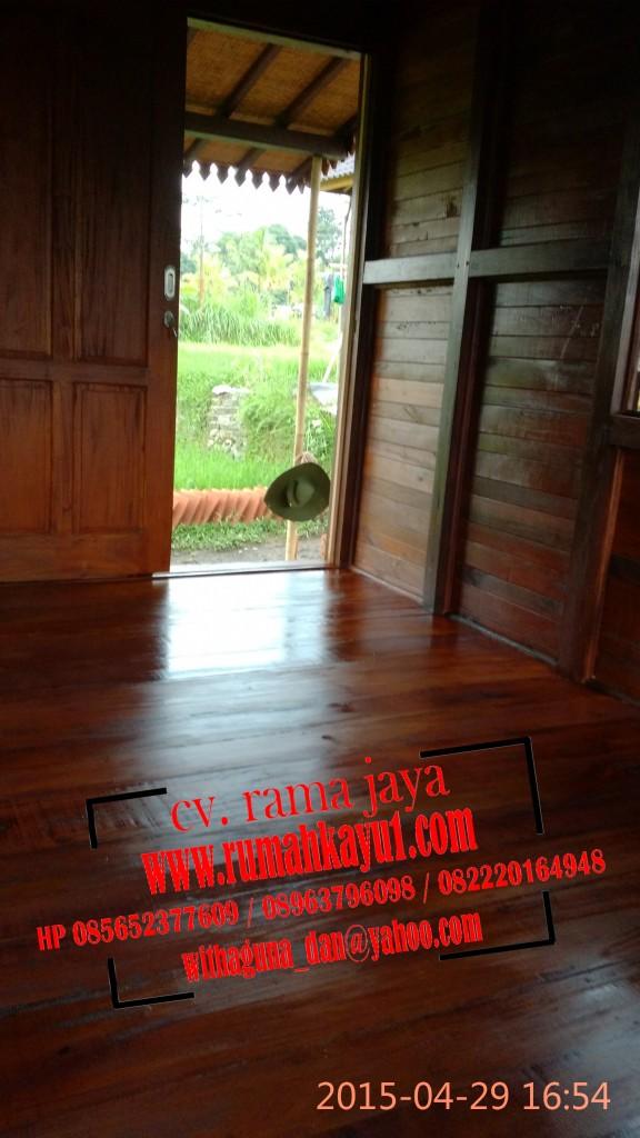interior rumah kayu,dalam rumah kayu