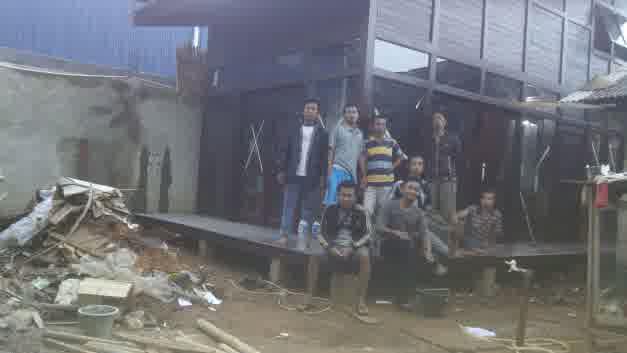 jual rumah kayu di depok