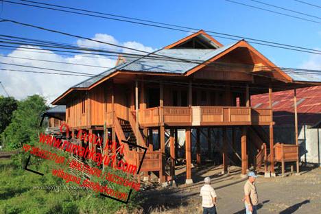 jual rumah kayu padang