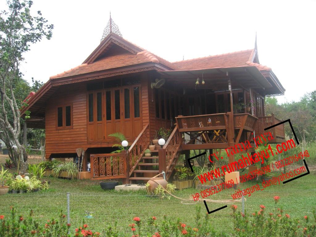 jual rumah kayu 8x12
