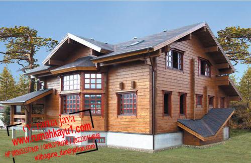 jual rumah kayu 6x8