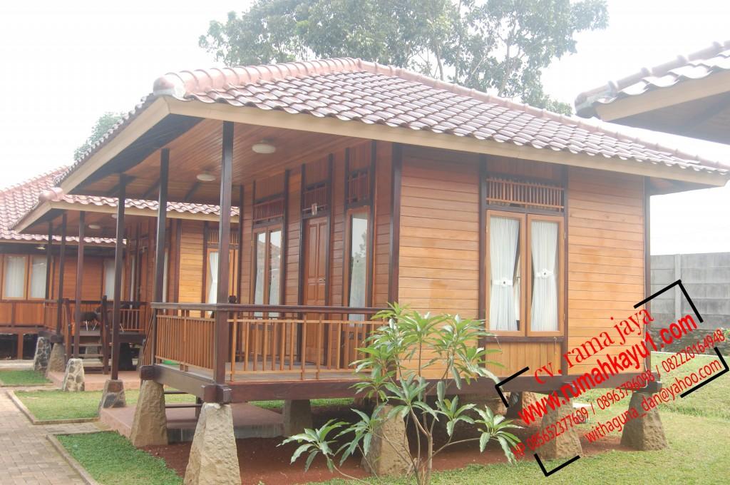 jual rumah kayu 4x6