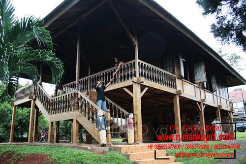 jual rumah kayu