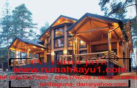 jual rumah kayu di lombok