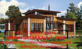 jual rumah kayu di cirebon
