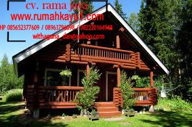 jual rumah kayu di jabotabek