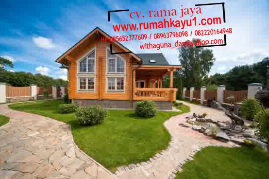 jual rumah kayu minimalis di tangerang