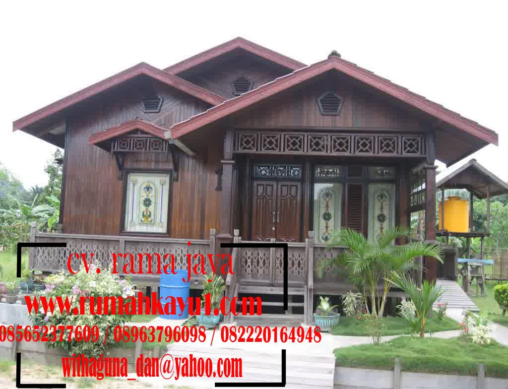 Rumah Kayu Rama Jaya 167