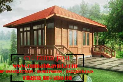 rumah kayu minimalis murah