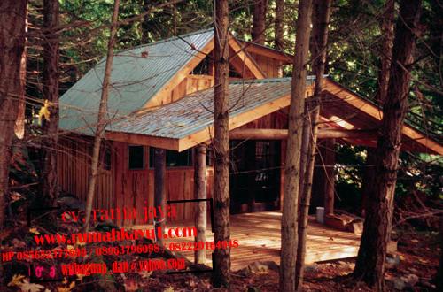 rumah kayu mini