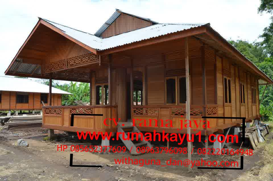 jual rumah kayu di kintamani