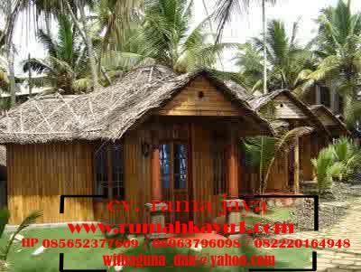 jual rumah kayu mini
