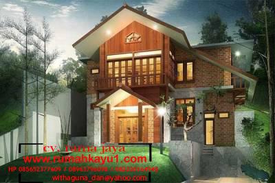 pembuat rumah kayu di ubud