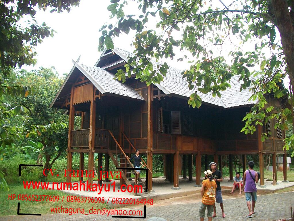 rumah kayu murah di malang