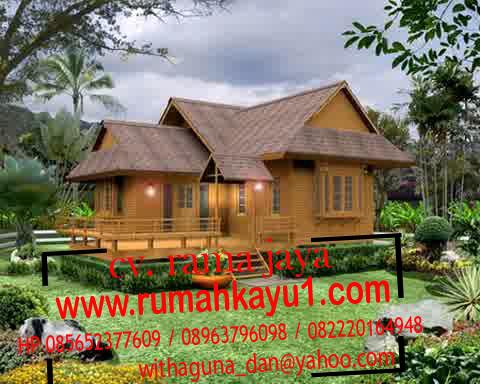 rumah kayu murah di bekasi