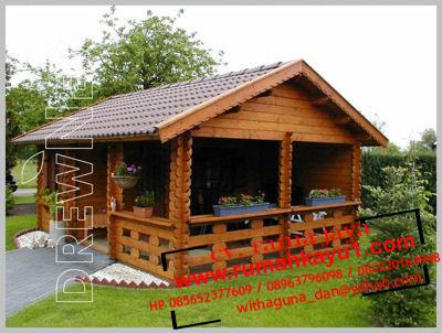 rumah kayu murah di bogor