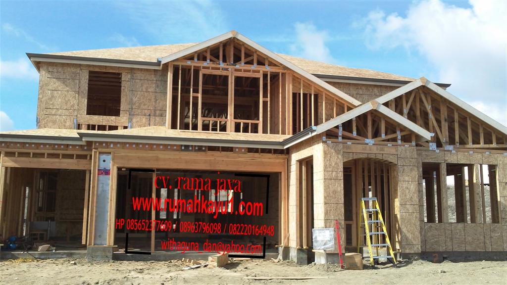 jual rumah kayu di kalimantan tengah