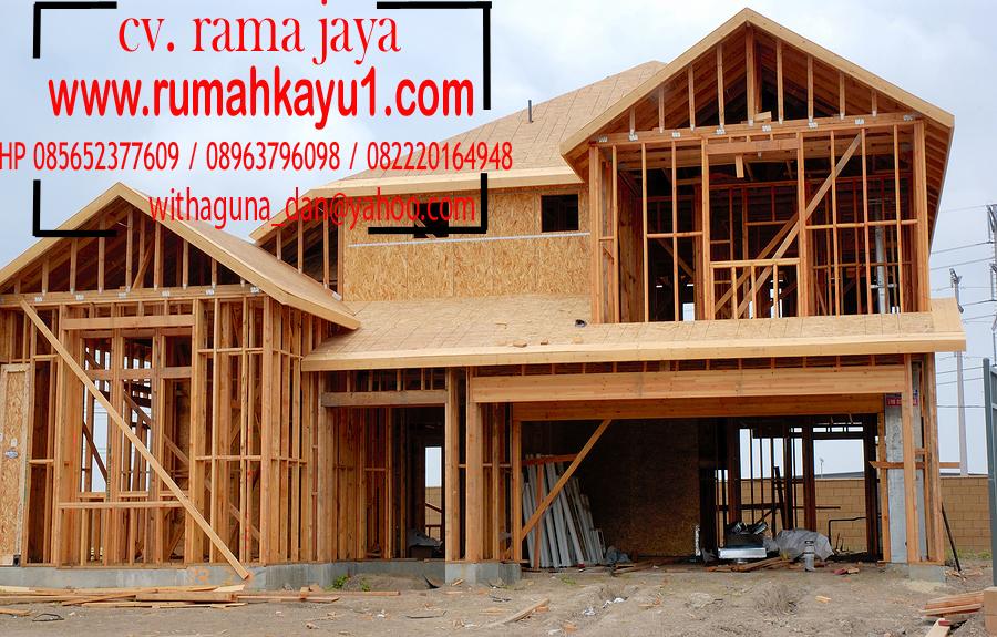jual rumah kayu di kalimantan barat