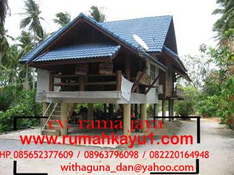 jual rumah kayu di riau