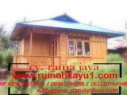 jual rumah kayu di aceh