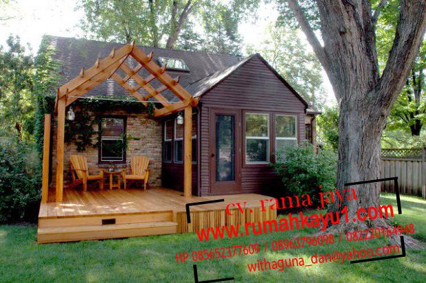 Gambar Rumah Kayu Desain Rumah Kayu Murah