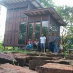 jual rumah kayu minimalis tingkat