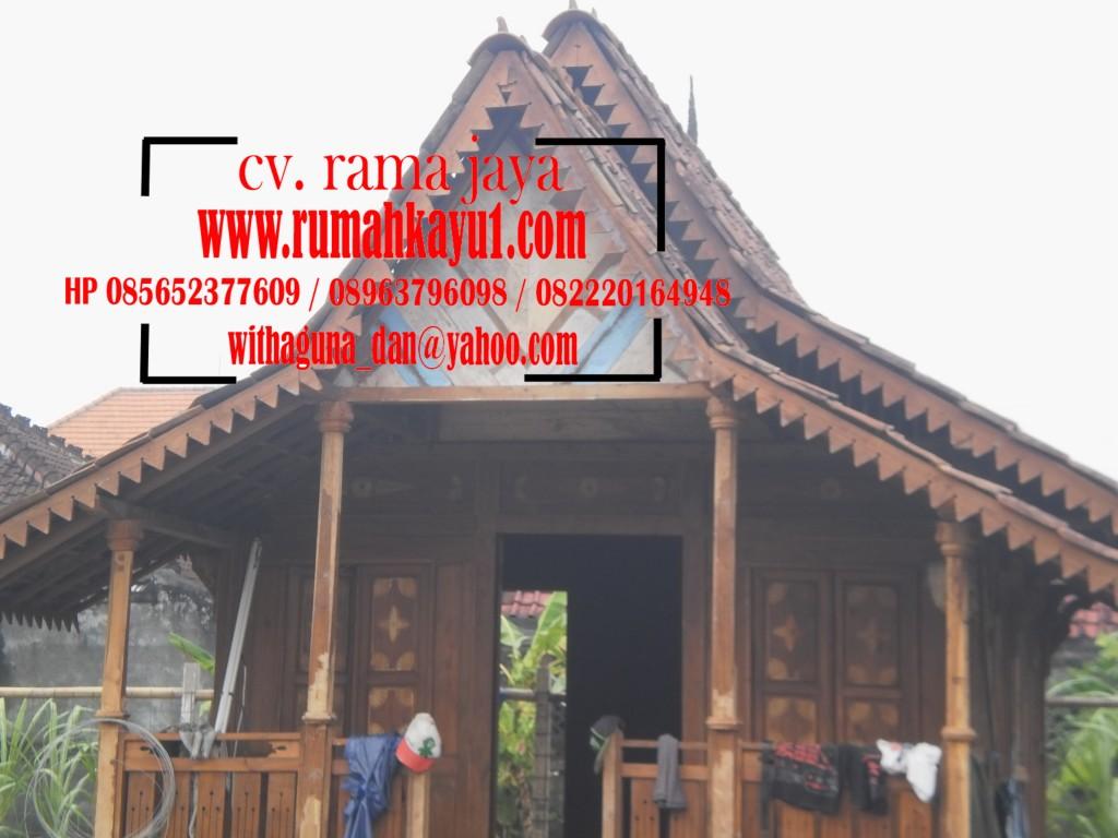rumah kayu geladak antikan
