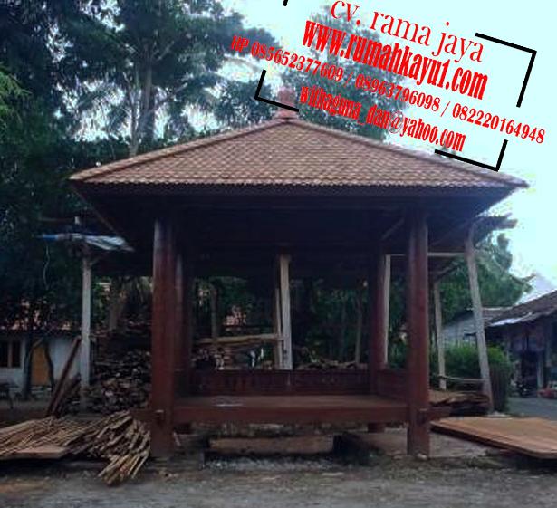jual gazebo kelapa di banten