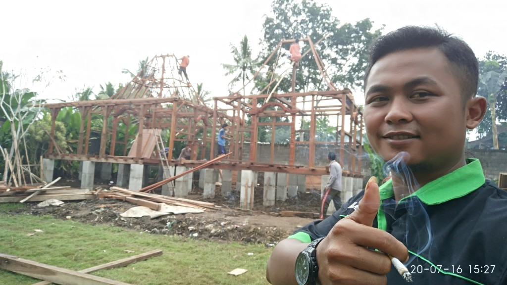 jual rumah kayu di surabaya, rumah kayu di malang,
