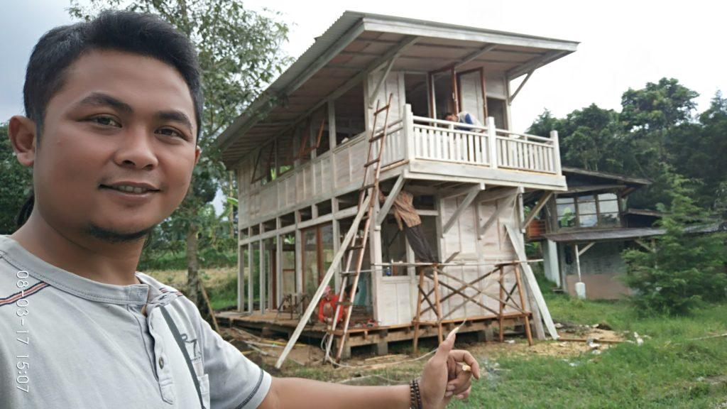 jual rumah kayu murah, rumah kayu minimalis, rumah kayu tingkat,