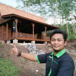 jual limasan rumah kayu