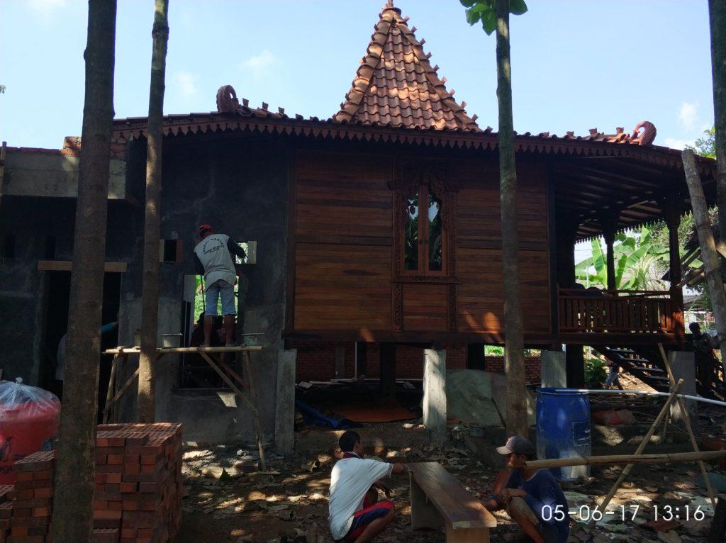 jual rumah kayu di tangerang