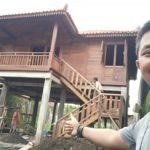 Jual rumah kayu di jakarta, bogor,depok, magelang,surabaya,jember, pembuat rumah kayu di sukabumi