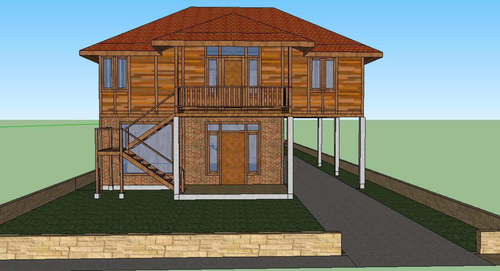 jasa desain rumah kayu di jakarta bogor tangerang bekasi depok bandung