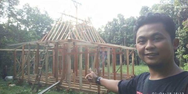 rangka rumah kayu yang kuat