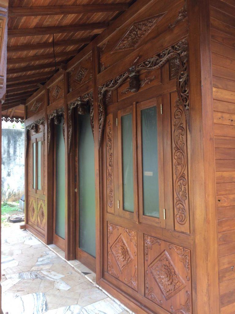 jual plafon rumah kayu