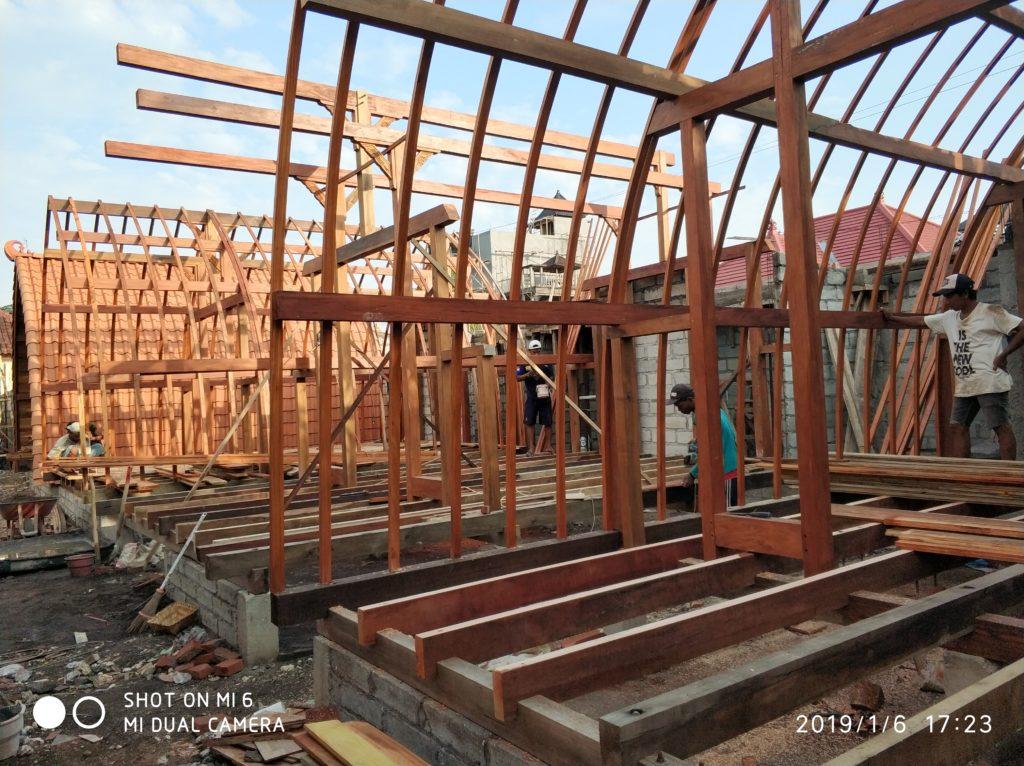jual rumah kayu di jakarta